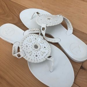 Jack Rogers Jelly sandal.